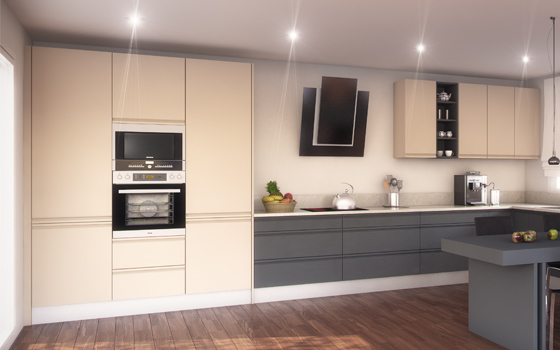 Cocinas for Muebles de cocina despensa