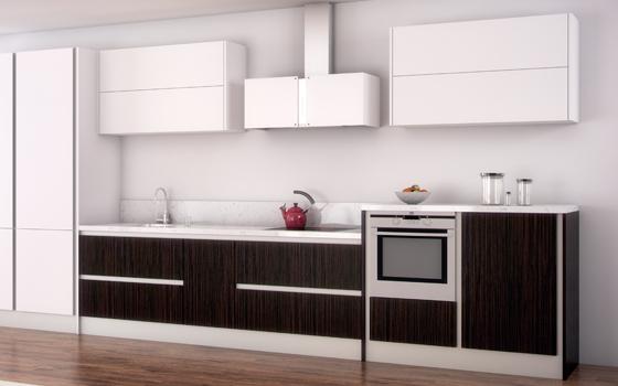 Cocinas for Cocina blanca y negra