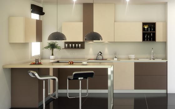 Cocinas for Cocinas con azulejos beige