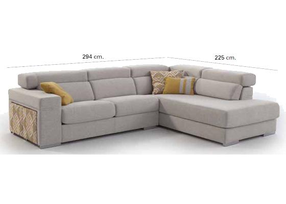 sofas cheslong con respaldo