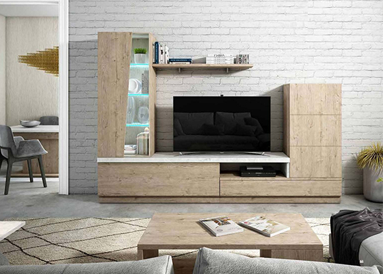 mueble de salon moderno coleccion trake 19