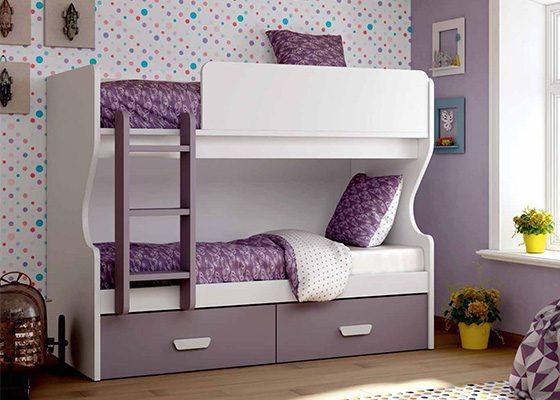 dormitorio juvenil LITERAS coleccion ZORA 03
