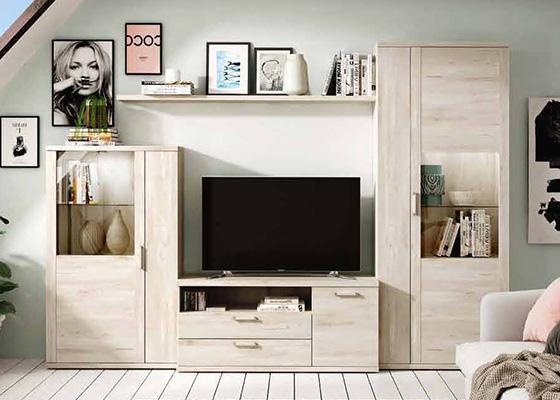 mueble de salon de madera coleccion KRONOS 01 1