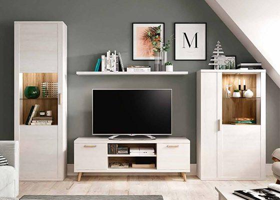 mueble de salon de madera coleccion KRONOS 02 1