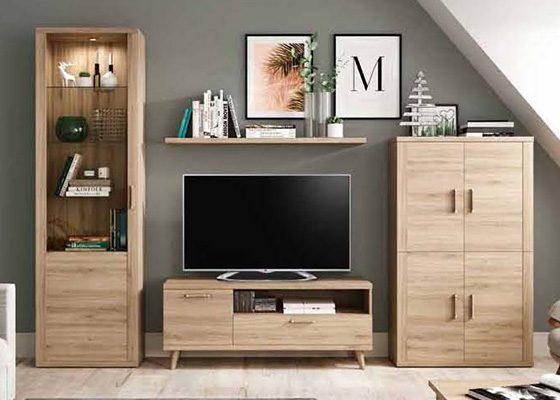 mueble de salon de madera coleccion KRONOS 03 1