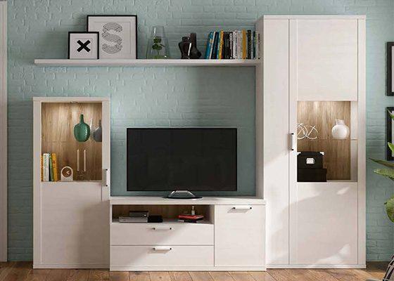 mueble de salon de madera coleccion KRONOS 05 1