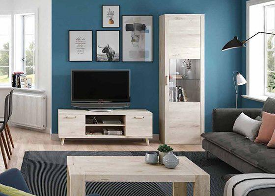 mueble de salon de madera coleccion KRONOS 06 1