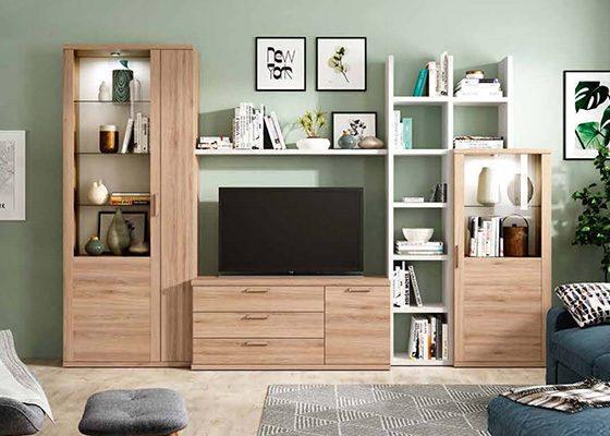 mueble de salon de madera coleccion KRONOS 10 1