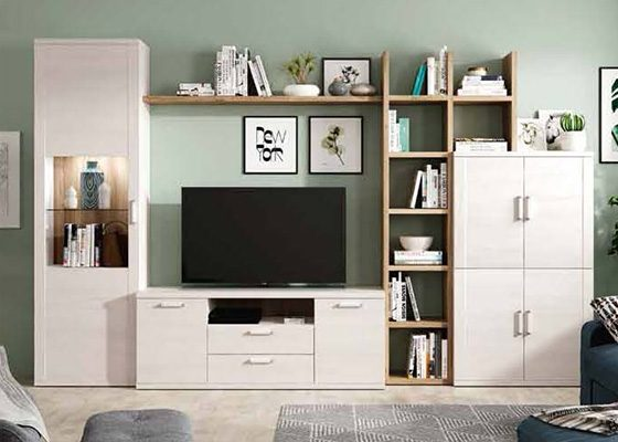 mueble de salon de madera coleccion KRONOS 11 1