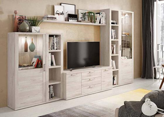 mueble de salon de madera coleccion KRONOS 12 1