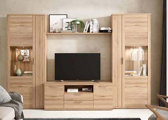 mueble de salon de madera coleccion KRONOS 13 1