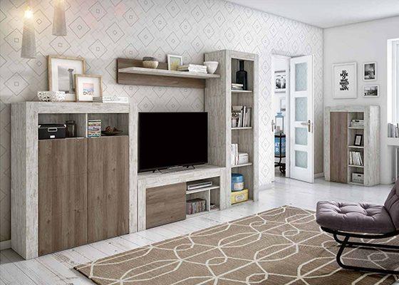 mueble de salon moderno coleccion home 11